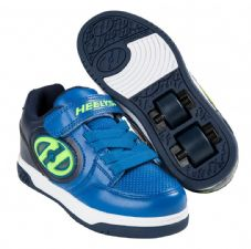 Heelys X2 Plus Lighted - Navy-Blue-Yellow